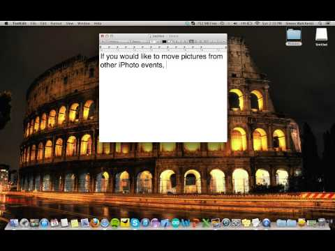 Moving pictures from iPhoto to a flash drive