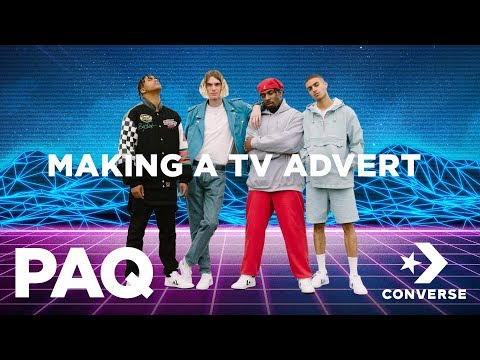 PAQ Ep #9 - Making an Advert for Converse