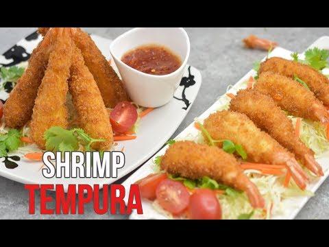 Basic and Easy: Crispy Shrimp Tempura Recipe