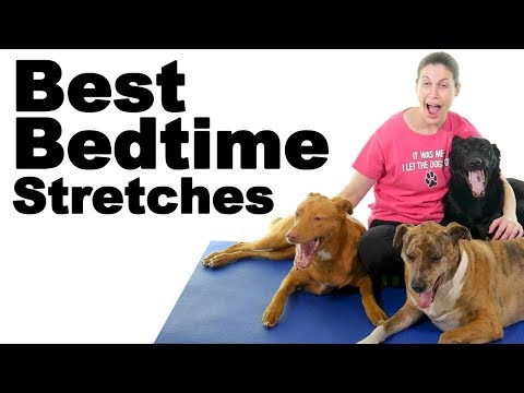 Bedtime Stretches to Help You Relax & Fall Asleep Faster - Ask Doctor Jo
