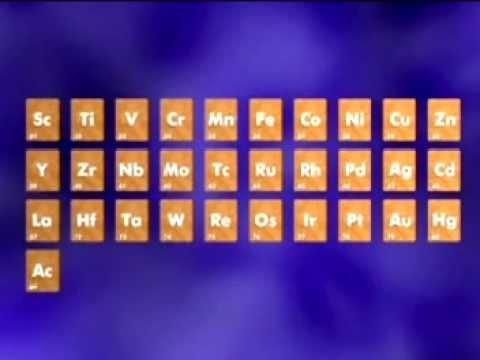GCSE Science Revision - Transition Metals