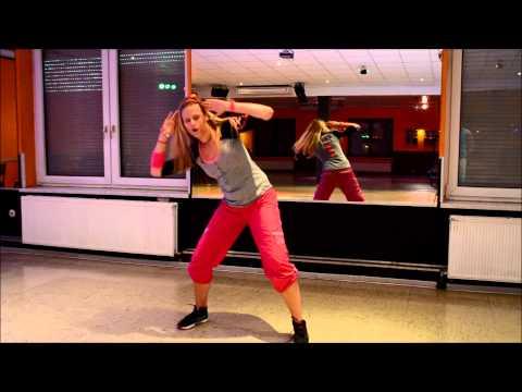 ZUMBA® Fitness Choreo by Mel / Taio Cruz feat Flo Rida   Hangover