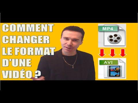 Comment changer le format d'une vidéo ? (convertir du mp4 en AVI/WMV etc. logiciel gratuit)