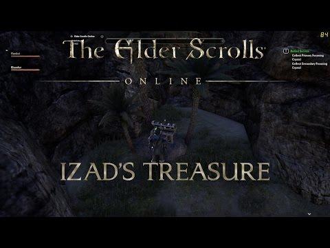 Elder Scrolls Online. Izad's Treasure.