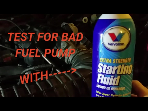 THIS REALLY WORKS!!!!!!! Bad fuel pump, fuel pump relay, no fuel problem!!!