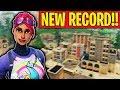 NEW KILL RECORD IN FORTNITE BATTLE ROYALE!!!! (Cizzorz Solo Squad Kill Record)