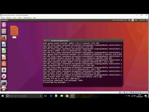 How to install Gnome 3.20 on Ubuntu 16.04
