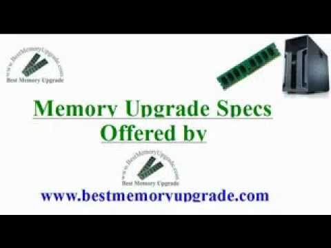 Compatible RAM Memory Upgrade Specifications of Dell PowerEdge T610 Server Computer System