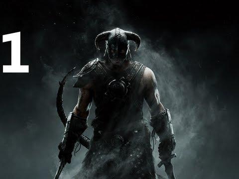 The Elder Scrolls V Skyrim Walkthrough Part 1 - Intro Crash Fix