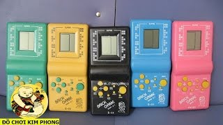 2 bài nhạc LIÊN XÔ làm nền game Tetris của đồ chơi xếp gạch huyền thoại
