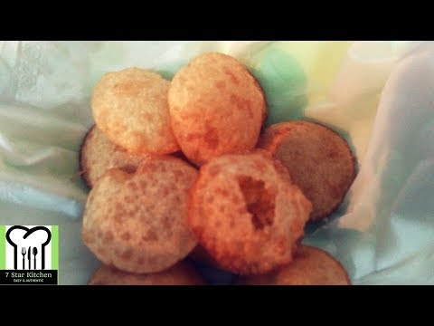 गोलगप्पा बनाने की विधि | Atta Pani Puri Recipe in Hindi | Atta Golgappa Recipe in Hindi