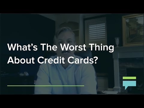 What's The Worst Thing About Credit Cards? – Credit Card Insider