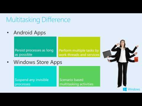 How to port Android apps to Windows Store
