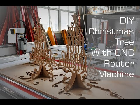 Christmas Ideas 2018 | Interlocking Tree Stand Made With CNC Router Machine