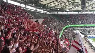 Schmadtke du Betrüger....|Köln Fans in Wolfsburg