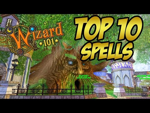 Wizard101: My Top 10 Favorite Looking Spells!
