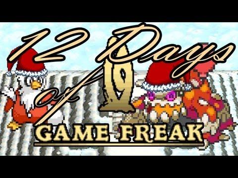 The Twelve Days Of Game Freak