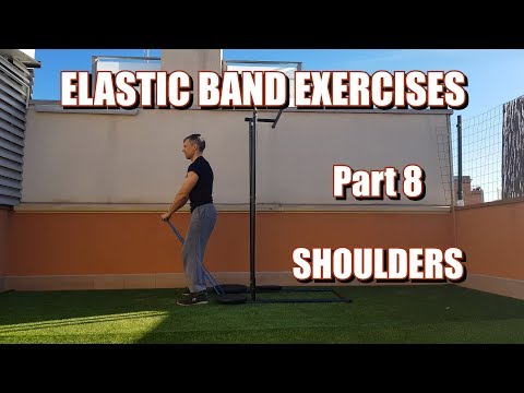 100 RESISTANCE BANDS EXERCISES | PART 8: SHOULDERS
