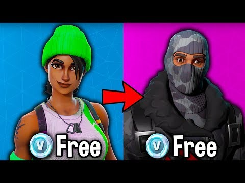 TOP 5 FREE SKINS YOU CAN GET in Fortnite! (these items are 100% free)