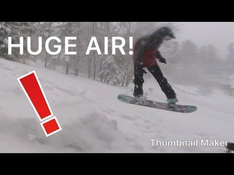 Legendary Snowboard Long Jump Challenge!