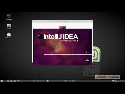 IntelliJ IDEA 2018.3 Community Installation on Linux Mint 18.3 and Java 11 Modular Programming