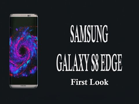 Samsung Galaxy S8 Edge First Look - Concept Phone