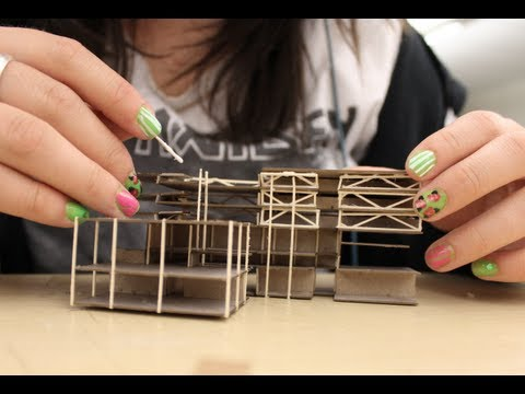 The Making of a Laser Cut Model