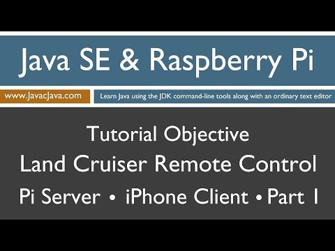 Java and Raspberry Pi Programming - iPhone Remote Control Part 1