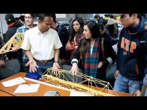 FALL 2014 - Spaghetti Bridge Prototype Testing