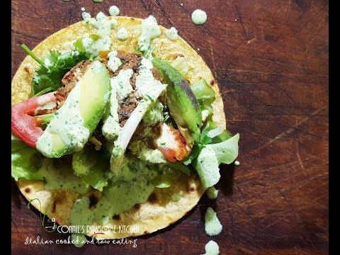 TEQUILA MARGARITA GLUTEN FREE VEGAN SLIDERS - BONUS DRUNKEN SAUCE  | Connie's  Rawsome kitchen