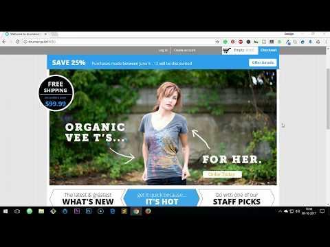 Drupal Commerce First Look ( Commerce Kickstart )