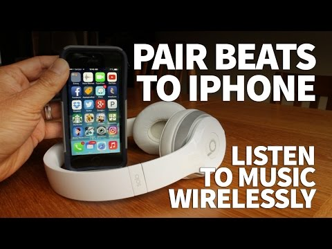 How to Pair Beats Wireless Headphones to iPhone – Beats Solo 2 Bluetooth Connection