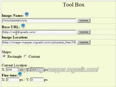 Changing base url tutorial www.image-maps.com
