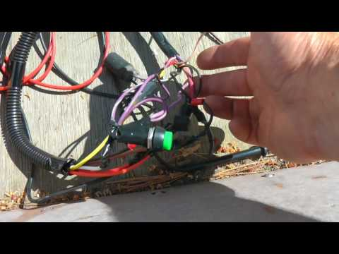 Getting an old outboard motor running - Part 3 - Electrical Harness & Spark