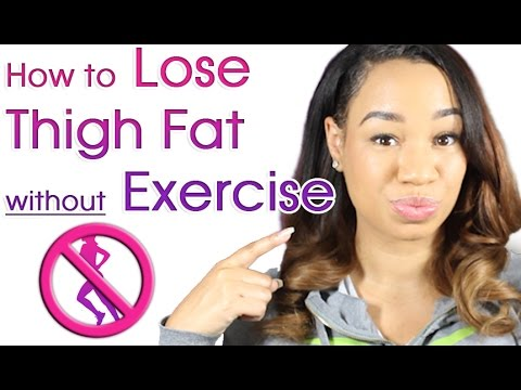 How to Lose Thigh Fat without Exercise