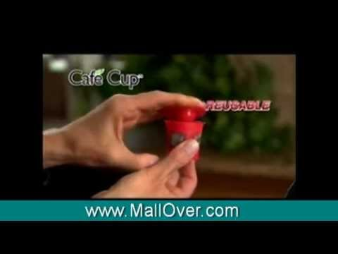 OFFICIAL Cafe Cup Infomercial - www.MallOver.com