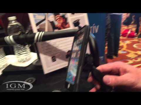 Lifeproof LiveActiv Battery Backup Case and Smart Mounting System - CES 2015