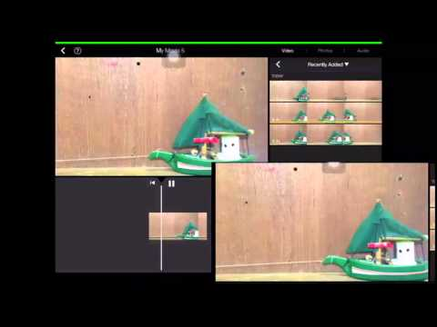 How to speed up video in imovie on ipad
