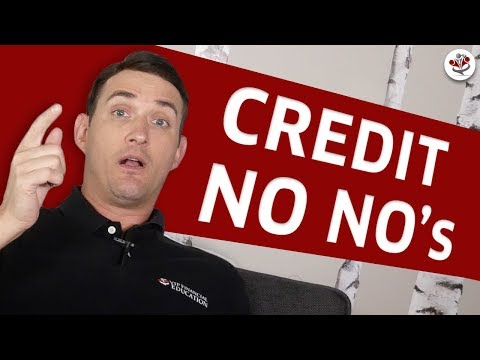 CREDIT SCORE ADVICE (The 7 Deadly FICO Score Sins + Credit Score Tips)