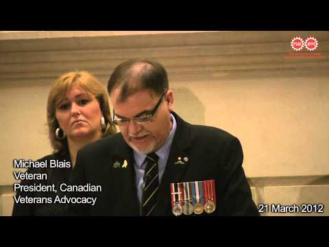 Michael Blais, President Canadian Veterans Advocacy on cutbacks to veterans services