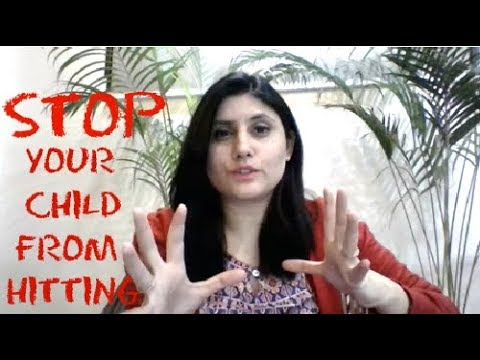 EXPERT TIPS- HOW TO STOP YOUR CHILD FROM HITTING, BITING OR KICKING