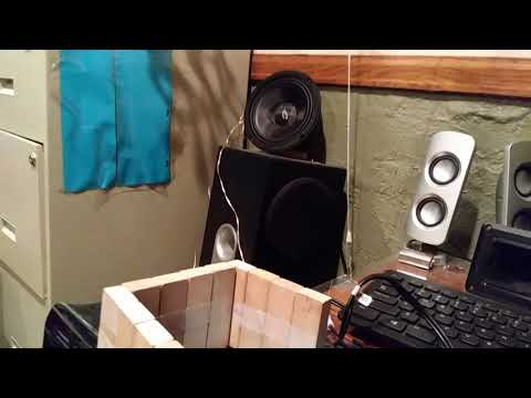 Trying to use bass box 6 Pro to build a subwoofer design GVE