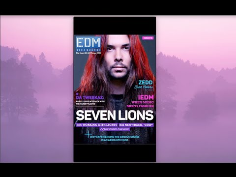 How To Use EDM World Magazine App For Apple & Android