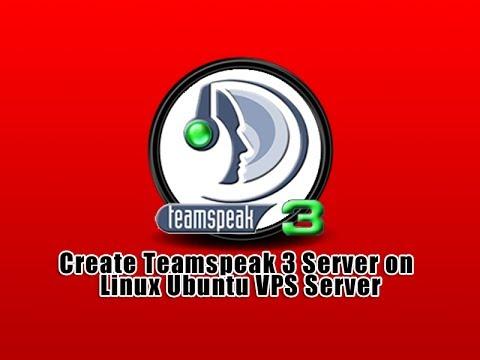 Create Teamspeak 3 Server on Linux Ubuntu VPS Server