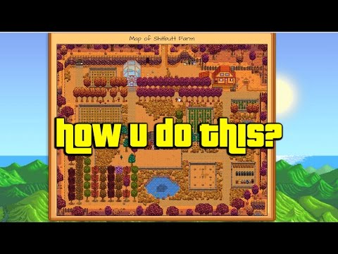 How to Take a Screenshot of your Entire Stardew Valley Farm (PC VERSION!)