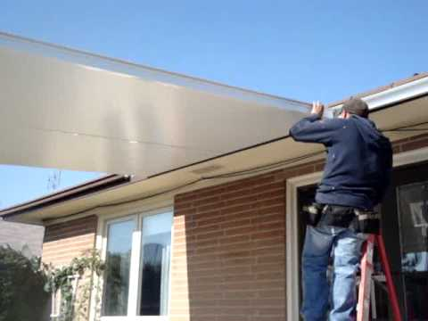HOW TO INSTALL INSULATED ROOF -PANELS. PART 1