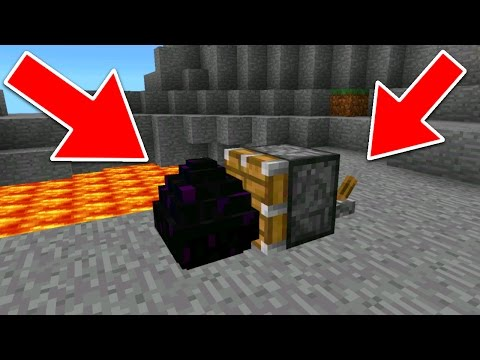 HOW TO GET THE DRAGON EGG IN 1.0 - MCPE Picking Up The Dragon Egg Trick - Minecraft Pocket Edition