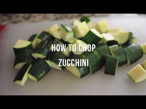 How to Chop Zucchini   @cooksmarts