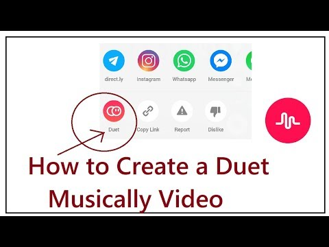 How to make A Musically Duet Video 2018