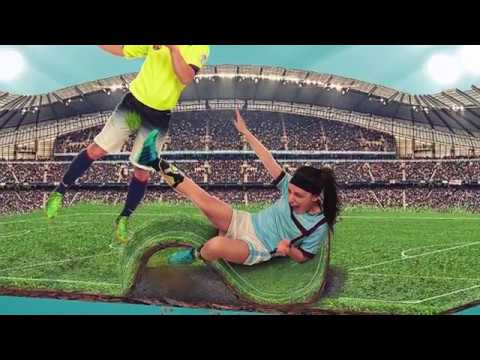 football...fight...''photoshop manipulation speed art''
